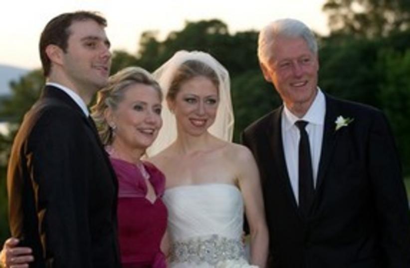 Chelsea Wedding 311 (photo credit: Associated Press)