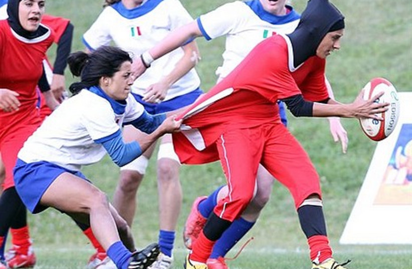 Iran's women's rugby sevens