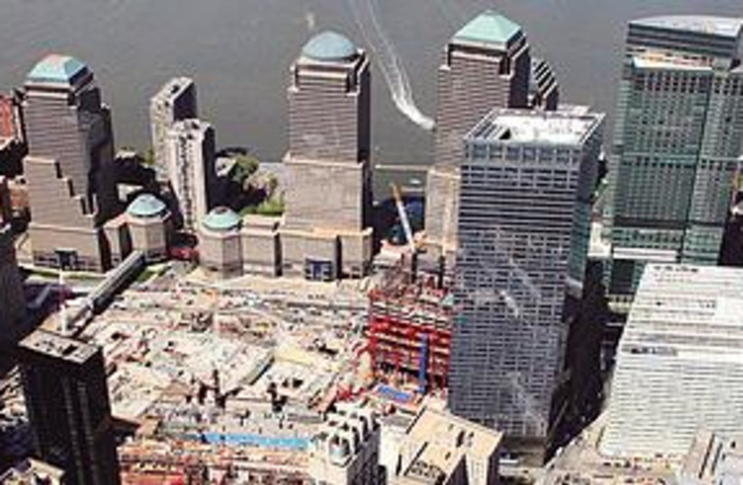Ground Zero mosque site (photo credit: Associated Press)