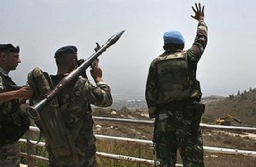 UNIFIL soldier311 (photo credit: ASSOCIATED PRESS)