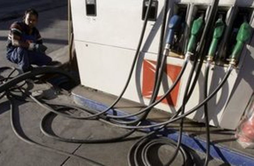 311_gasoline pumps (photo credit: Associated Press)