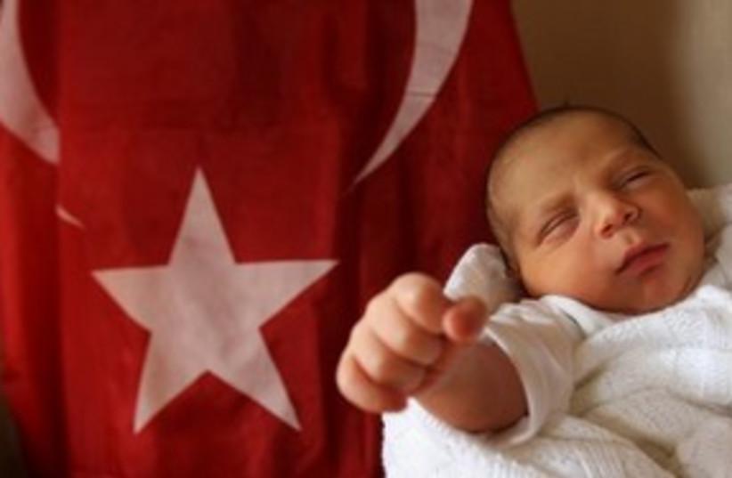 Haniyeh grandson 311 (photo credit: AP Photo/Hatem Moussa)