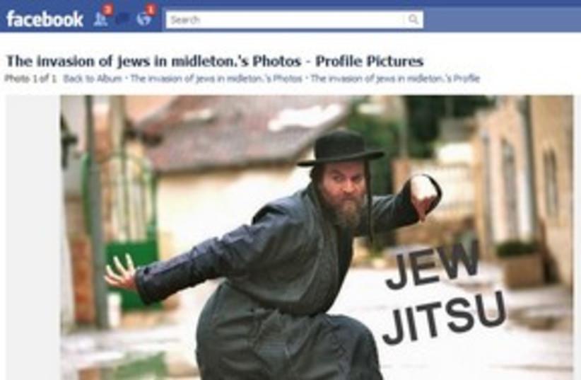 311_facebook antisemtism (photo credit: Screenshot.)