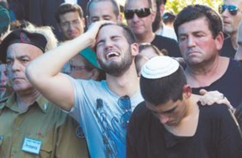 Dov Harari funeral1 311 (photo credit: Associated Press)