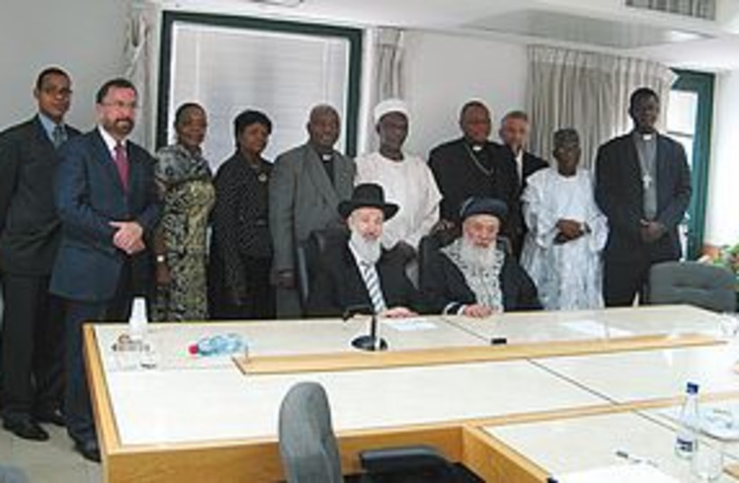 African clergy 311 (photo credit: Chief Rabbinate of Israel)