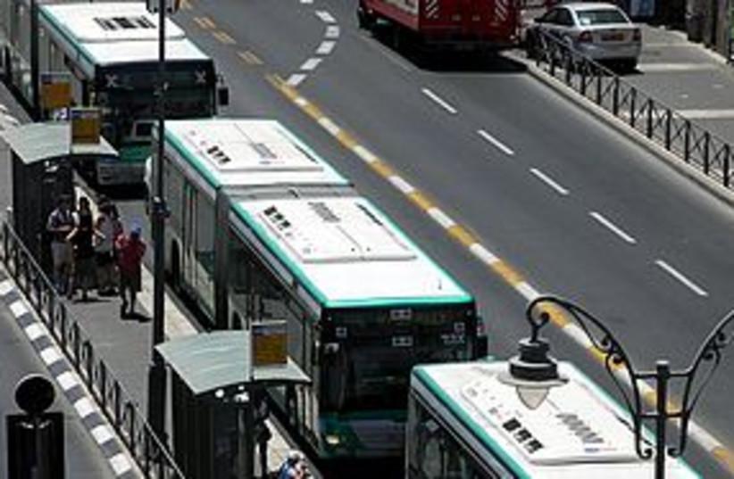 buses 311 (photo credit: Marc Israel Sellem)