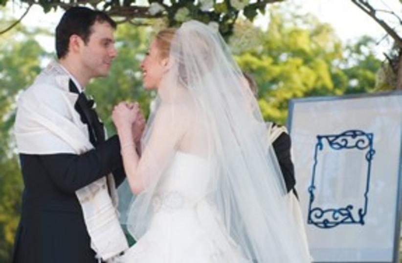 Chelsea Clinton wedding 311 (photo credit: AP/Genevieve de Manio)