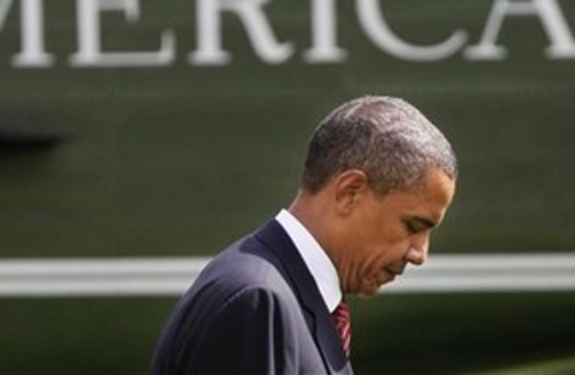 Barack Obama 311 (photo credit: AP/Pablo Martinez Monsivais)