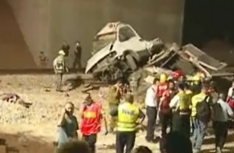 train crash 311 (photo credit: Channel 10)