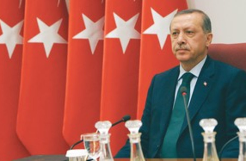 Erdogan 311 (photo credit: Associated Press)