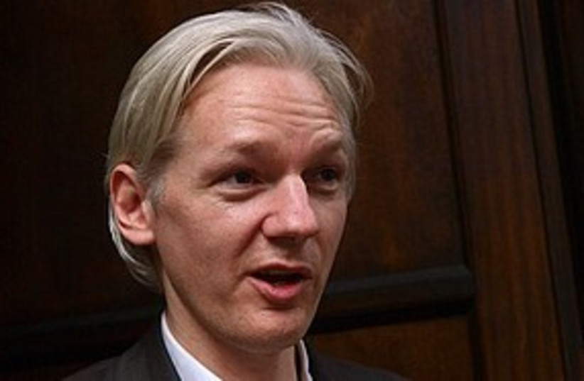 wikileaks 311 (photo credit: Associated Press)