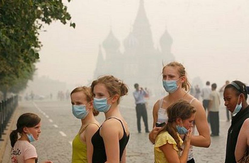 Wildfires in Russia kill thousands