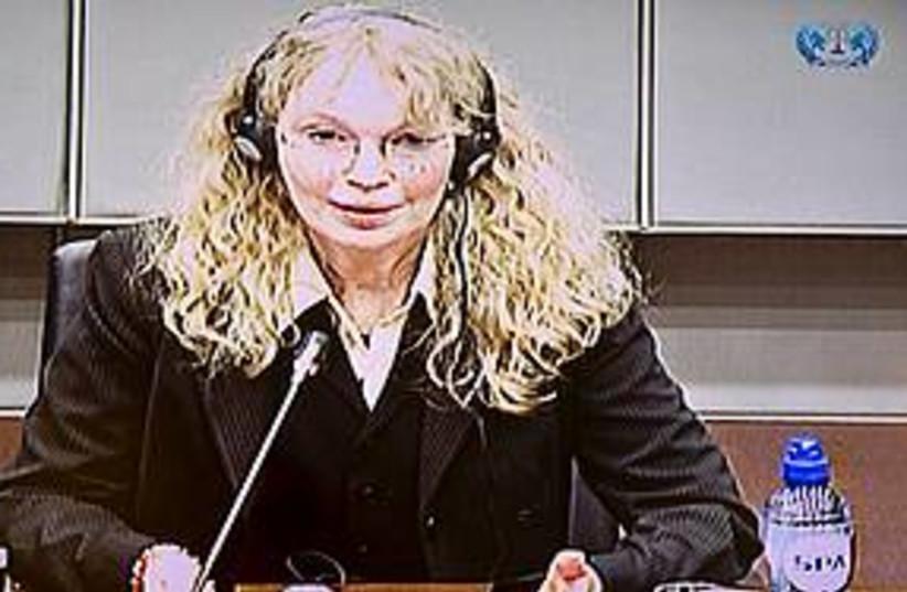 Mia Farrow war crimes tribunal (photo credit: Associated Press)
