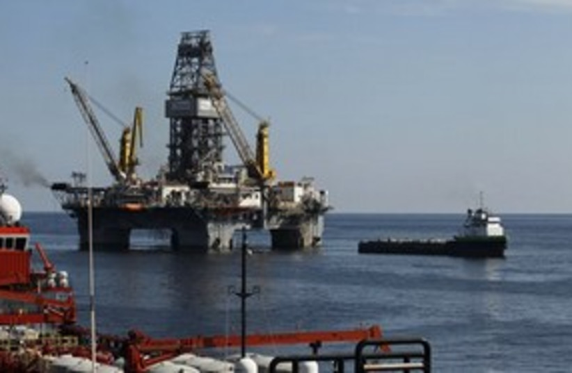 311_offshore oil well (photo credit: Associated Press)