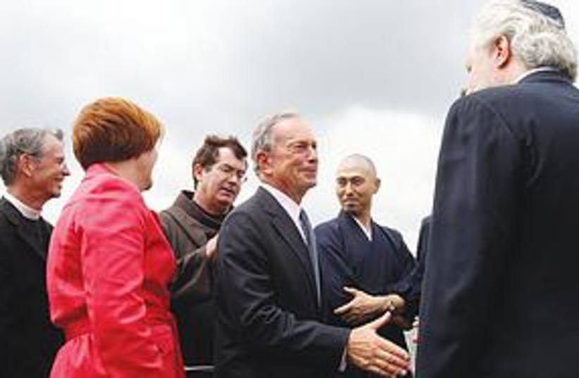 Mayor Michael Bloomberg  (photo credit: Associated Press)