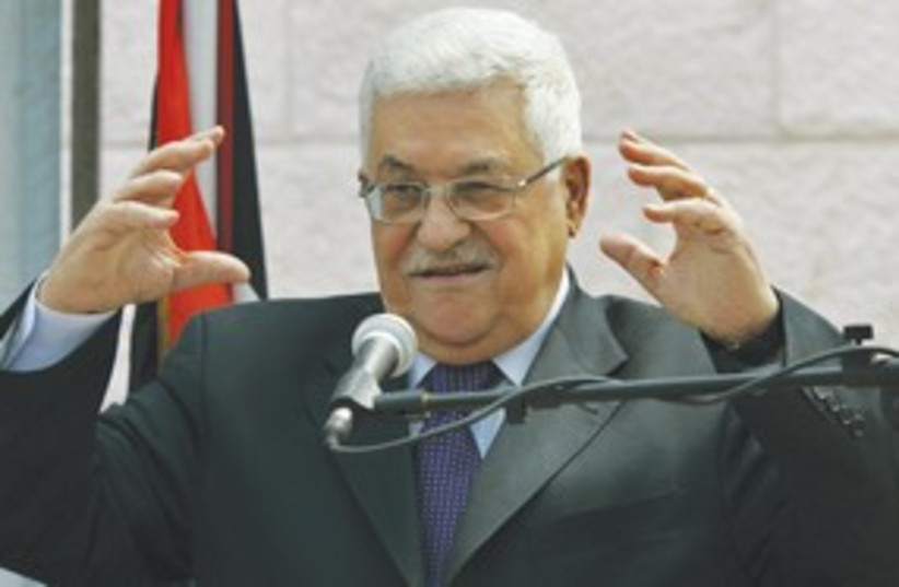 Abbas 311 (photo credit: AP)