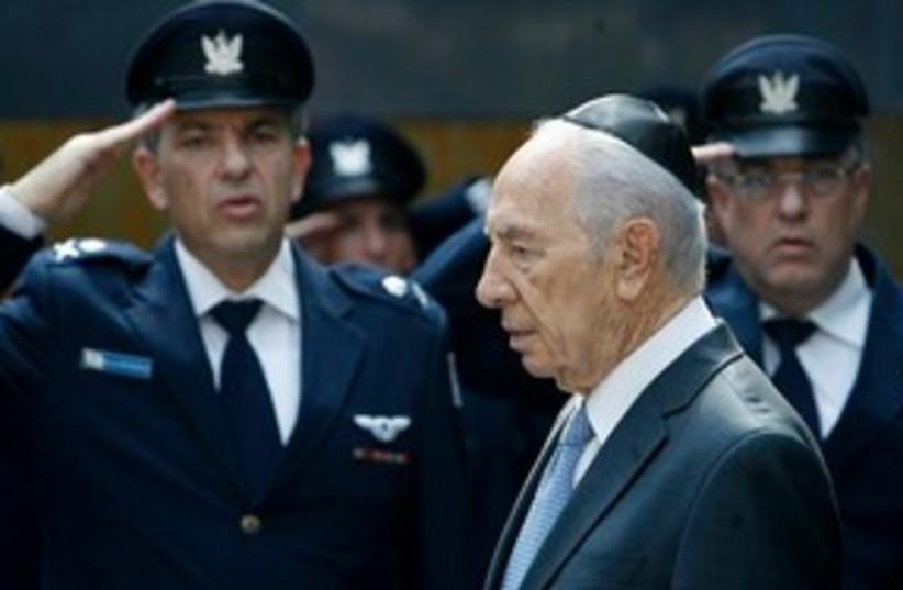 Peres 311 (photo credit: Associated Press)