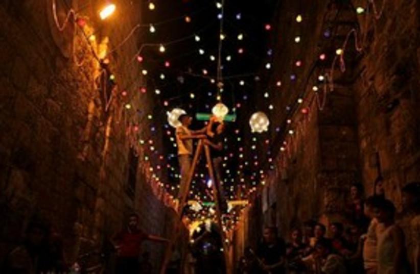 Ramadan Jerusalem 311 (photo credit: Associated Press)