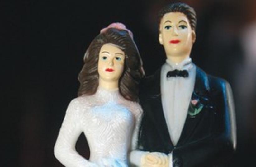 bride and groom 311 (photo credit: Marc Israel Sellem)