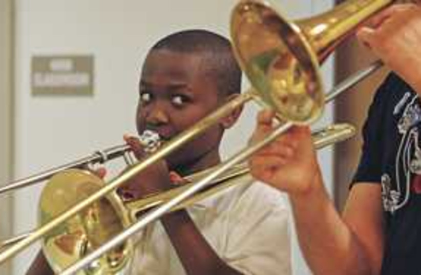 trombone 311 (photo credit: Carl Juste/Miami Herald/MCT)