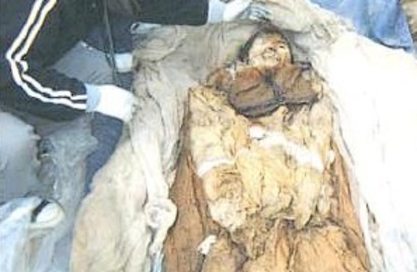 korean mummy 298.88 (photo credit: Courtesy of Seoul National Univresity)