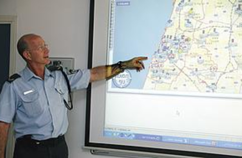 Nir Meriesh, in charge of technology development in the Isra (photo credit: Marc Israel Sellem / The Jerusalem Post)