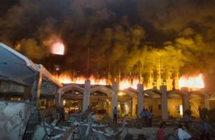 Marriott Hotel Bombing Pakistan 311 (photo credit: Associated Press)