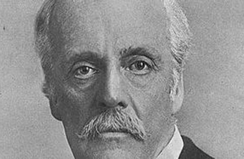Lord Balfour 311 (photo credit: Courtesy)