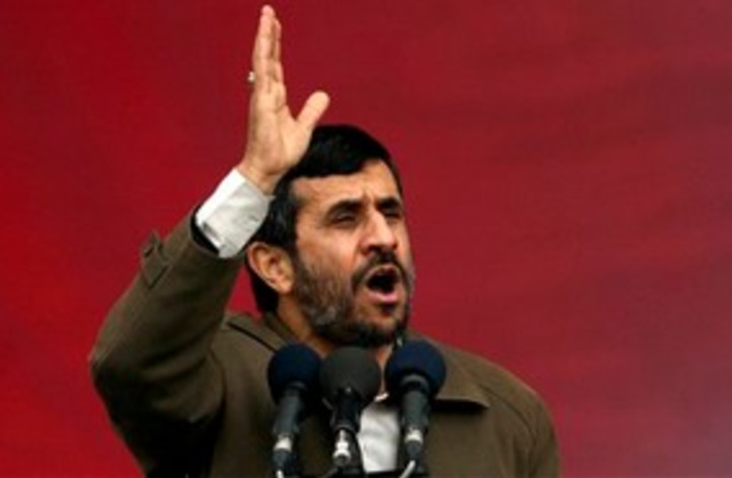 Ahmadinejad 311 (photo credit: Associated Press)