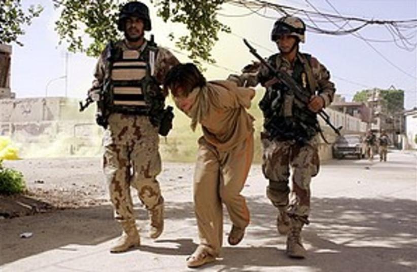 iraq arrest 298.88 (photo credit: AP)