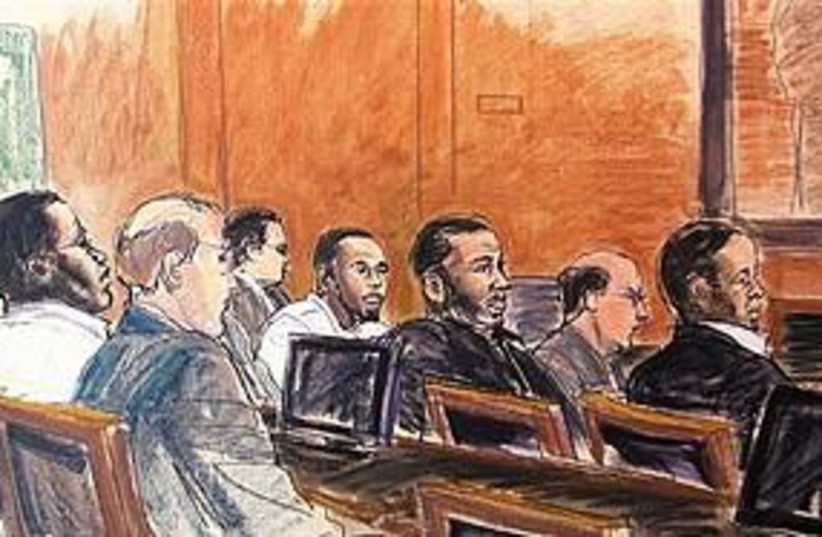 New York Synagogue bomb plot (photo credit: Associated Press)