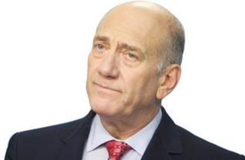 Ehud Olmert 311 (photo credit: Courtesy)