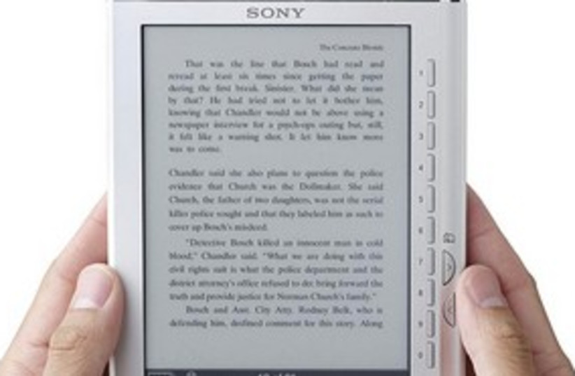 311_ereader (photo credit: Courtesy)