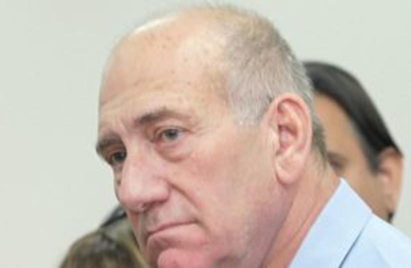 Ehud Olmert (photo credit: Ariel Jerozolimski)