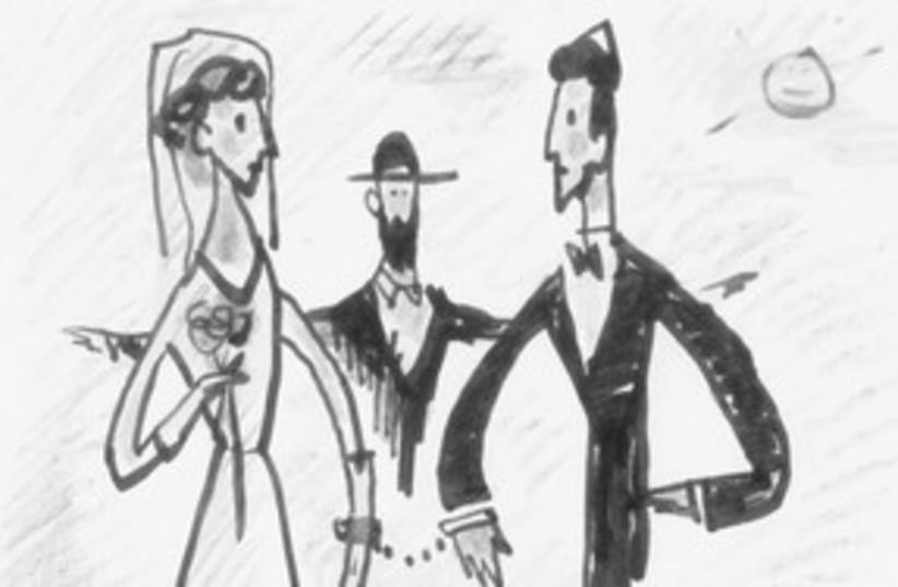 marriage cartoon 311 (photo credit: Courtesy)