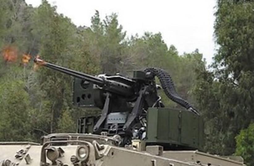 elbit turret 298.88 (photo credit: Courtesy: Elbit Systems)