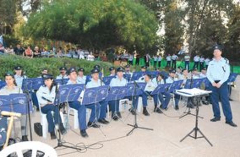 311_Israel police orchestra (photo credit: Courtesy)