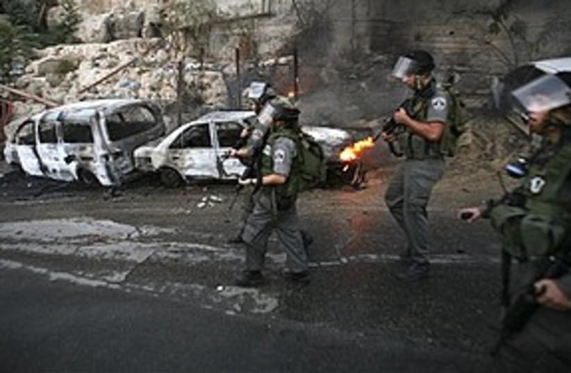 border police silwan 311 AP (photo credit: Associated Press)
