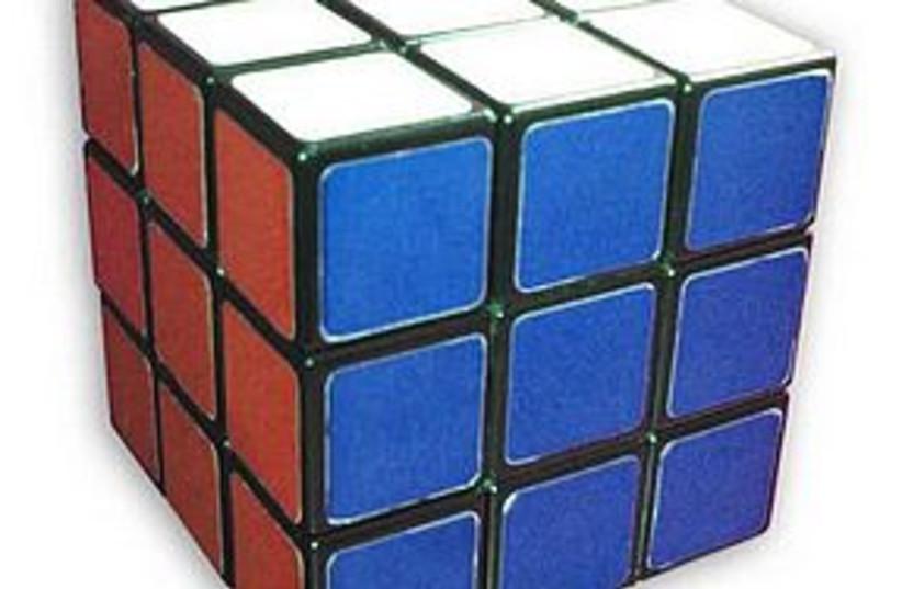 rubiks cube 311 (photo credit: Wikimedia commons)