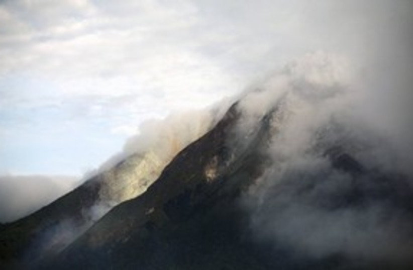 311_volcan erupts (photo credit: Associated Press)