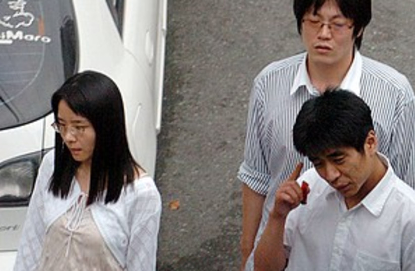 S Korean hostages 298.88 (photo credit: AP)
