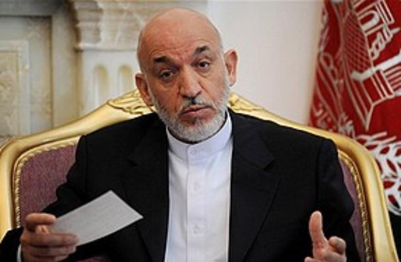 Karzai 311 (photo credit: Associated Press)