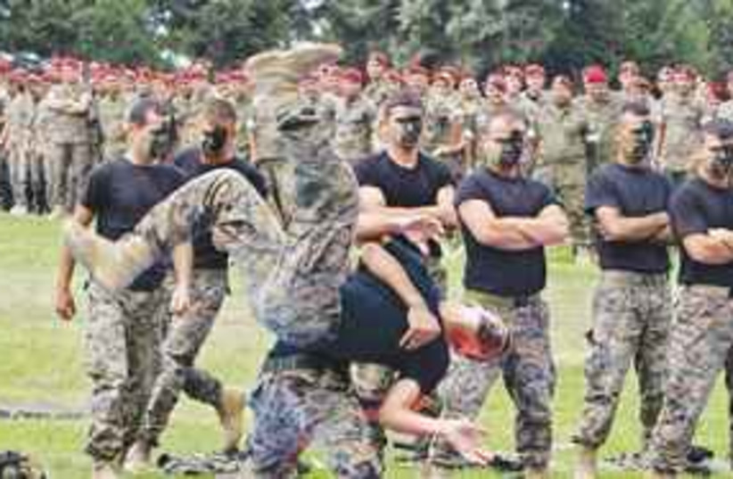 Lebenese army 311 (photo credit: AP)