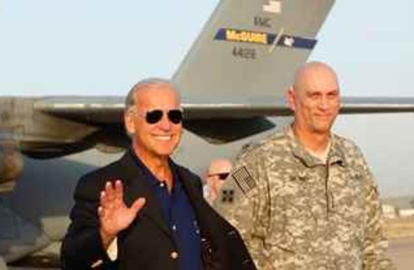 Biden Iraq 311 (photo credit: Associated Press)