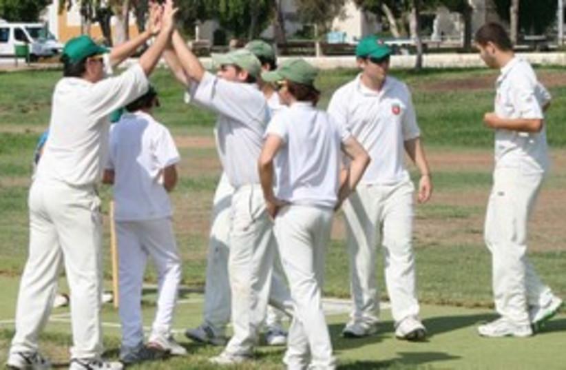 Israel Cricket (photo credit: Courtesy)