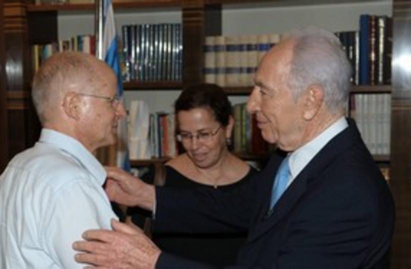 Peres Schalits (photo credit: Amos Ben Gershom)