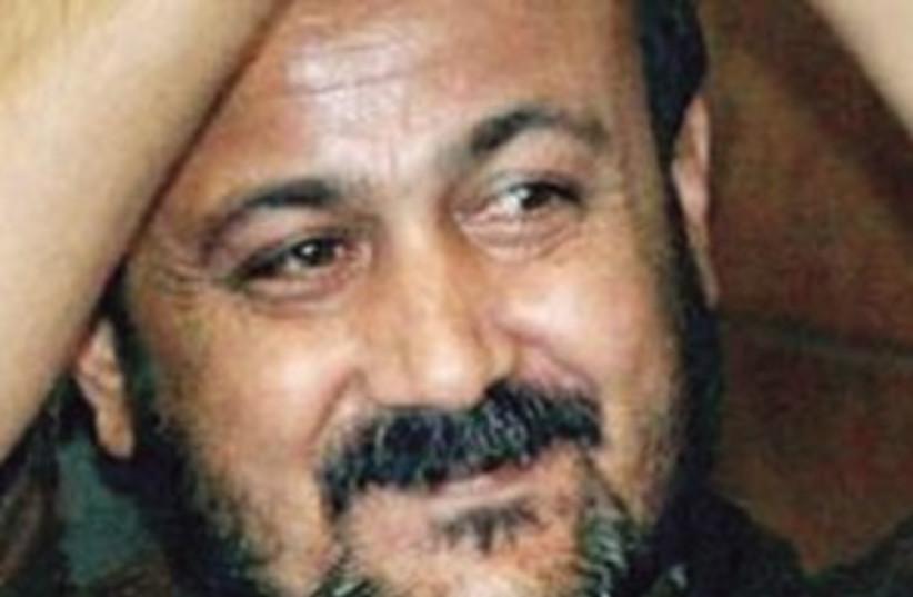 Barghouti smiles 311 (photo credit: Associated Press)
