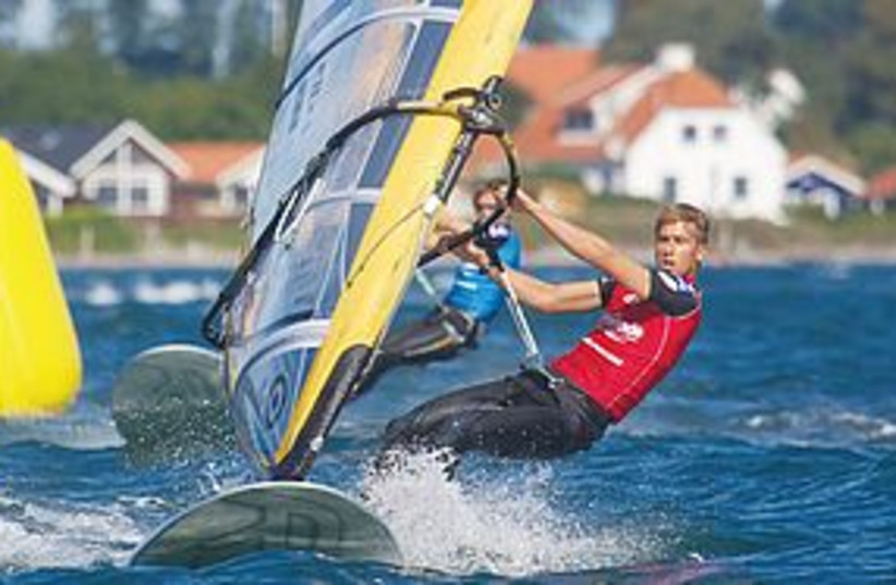 mashiah windsurfing 311 (photo credit: RS:X Championships Web site)