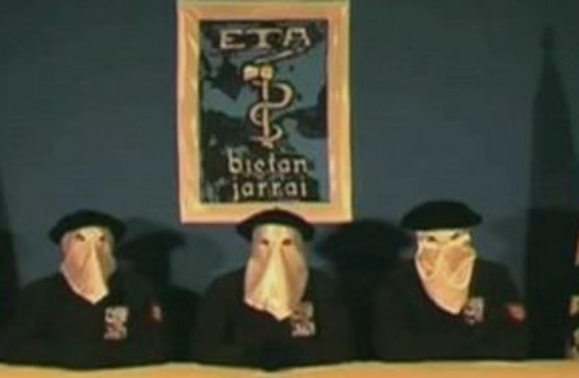 Basque separatist militant group ETA 311 (photo credit: AP Photo/Gara.net)