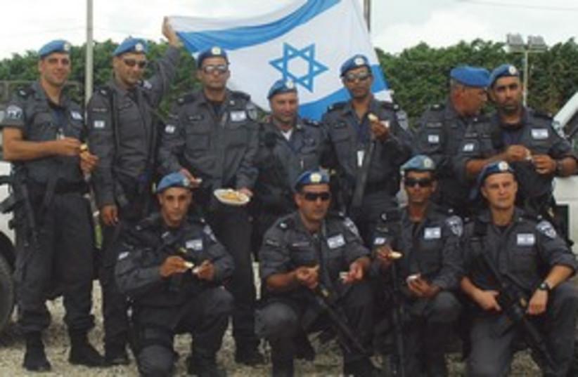 Yasam police Haiti 311 (photo credit: Israel Police)